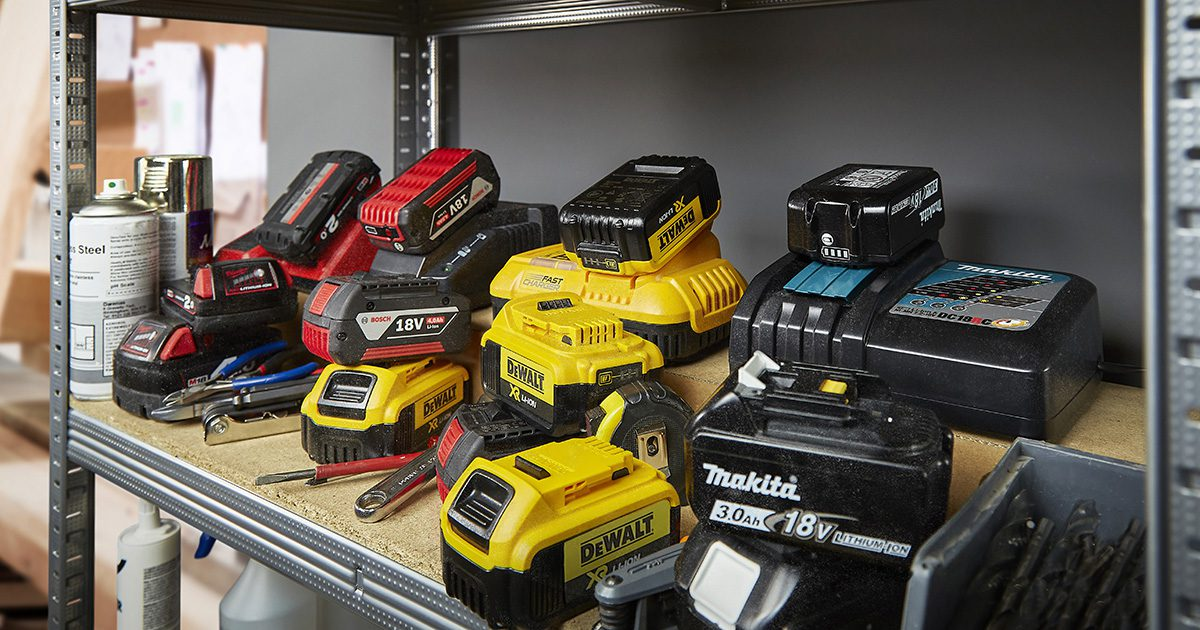 No need to buy additional battery and charger systems